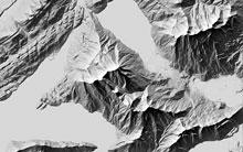 Aerial perspective (Mt. Rigi)