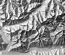 Relief by Orell Füssli Kartographie