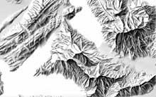 Manual shading (Mt. Rigi)