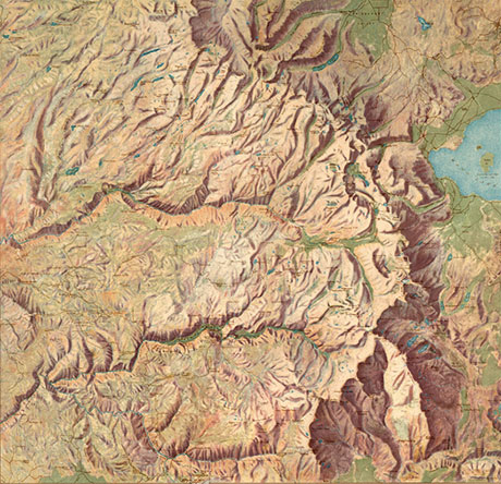 Yosemite by Renshawe, USGS, 1914